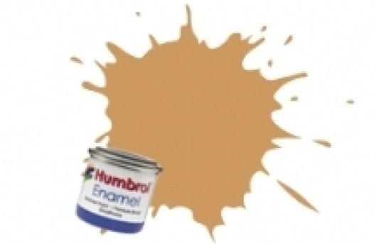 Humbrol 14ml Enamel Paint Matt - #63 Sand