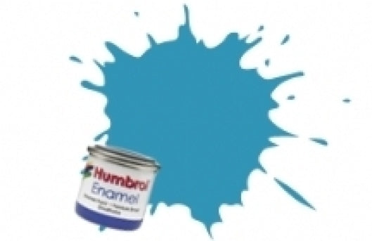 Humbrol 14ml Enamel Paint Matt - #89 Middle Blue