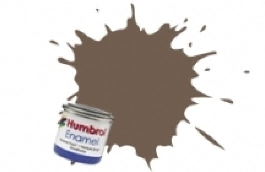 Humbrol 14ml Enamel Paint Matt - #98 Chocolate