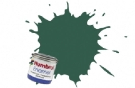 Humbrol 14ml Enamel Paint Matt - #116 Dark Green