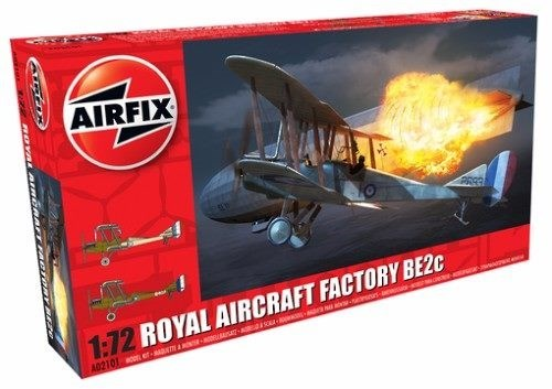 Airfix - 1:72 Royal Aircraft Factory BE2c
