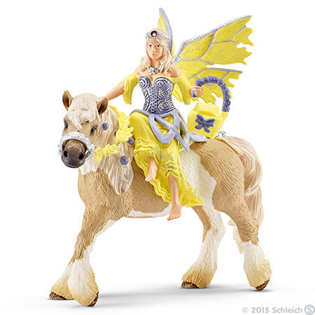 Schleich - Sera in Festive Clothes, Riding