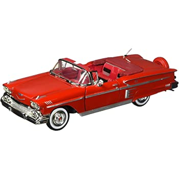 MotorMax Timeless Legends: 1958 Chevy Impala - 1:24