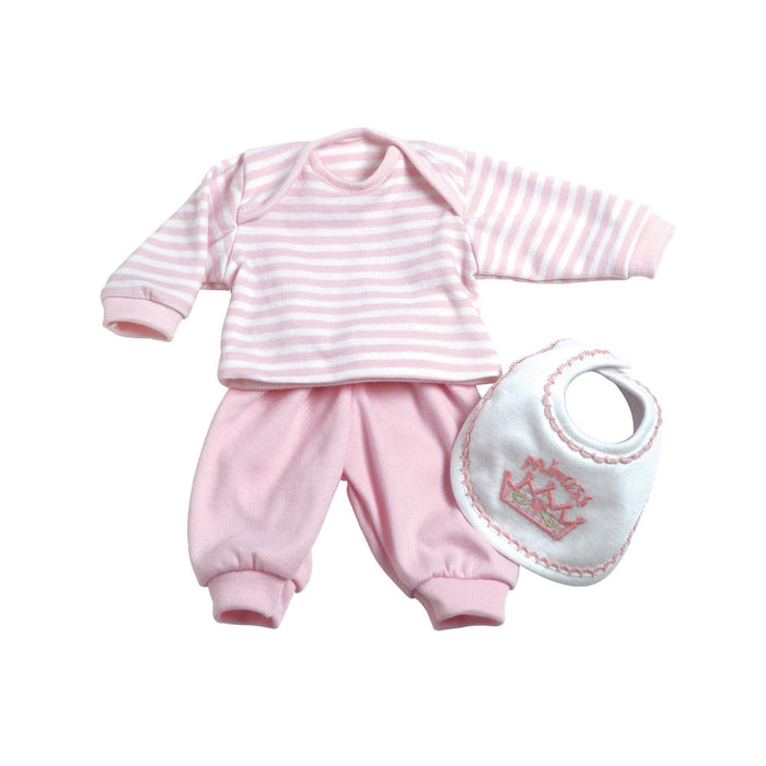 Adora - 3pc Layette Set Pink