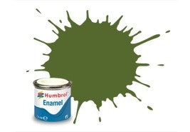 Humbrol 14ml Enamel Paint Matt - #88 Deck Green