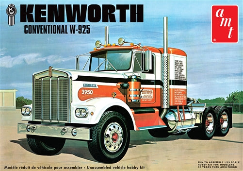 AMT 1/25 Kenworth W925 Truck Model Kit