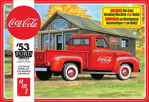 AMT - 1/25 1953 Ford F100 Pickup (Coca Cola)