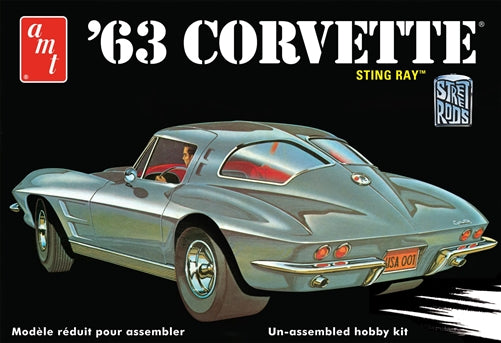 AMT - 1/25 1963 Chevy Corvette Stingray Model Kit