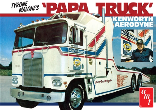 "AMT 1/25 Tyrone Malone ""Papa Truck"" Kenworth Model Kit"