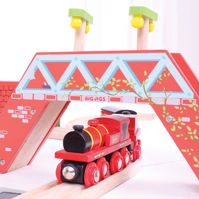 BigJigs Rail: Big Red Engine and Coal Tender