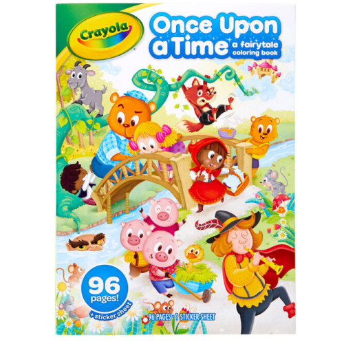 Crayola - Colouring Book - Once Upon a Time a fairytale