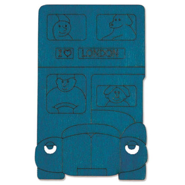 Hape - George Luck Five Buses Puzzle