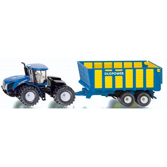 Siku Farmer - New Holland T9.560 with Silage Trailer #1947