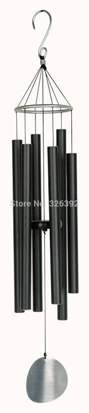 Natures Melody - Wind Chime - Black 28""