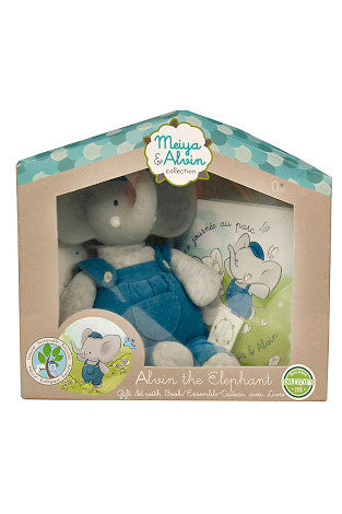 Meiya & Alvin: Alvin the Elephant Gift Set/Ensemble