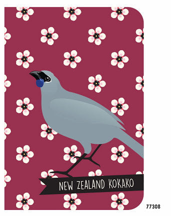 Antics: NZ Kokako Notebook