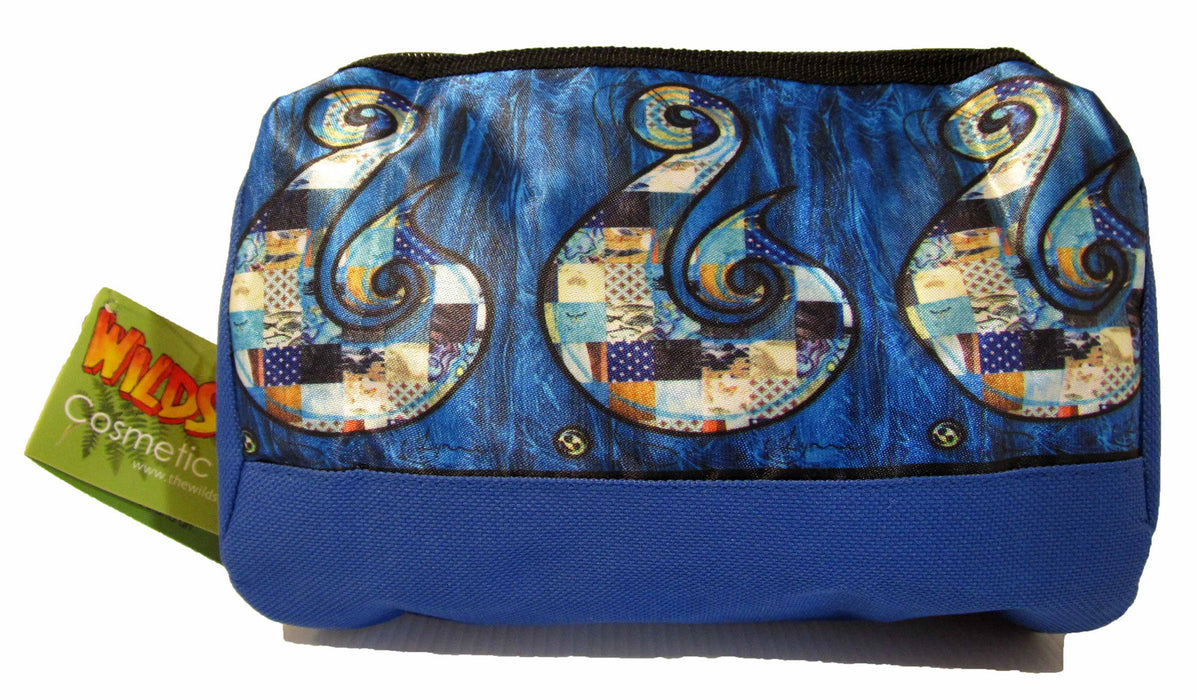 Wildside - Blue Hei Matua Cosmetic Bag