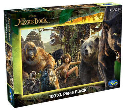 Holdson 100 XL Piece Jigsaw Puzzle - Disney - The Jungle Book