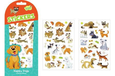 Peaceable Kingdom - Stickers - Happy Dogs