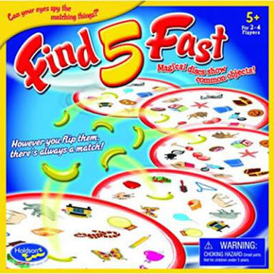 Find 5 Fast Board Game