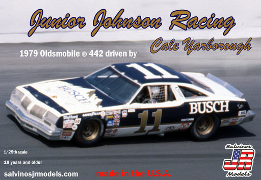 Salvinos JR Model Kits - Junior Johnson Racing 1979 Oldsmobile 442