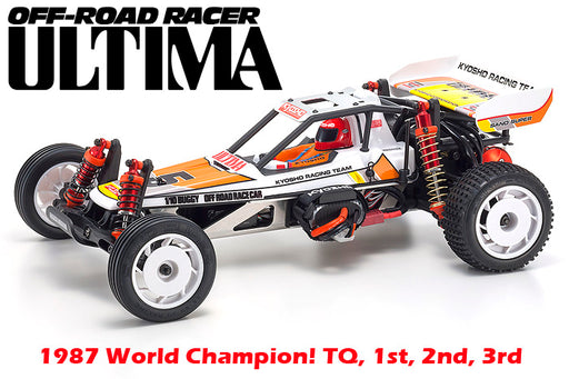Kyosho: 1/10 Ultima Retro 2WD EP Kit (Re-Release Version)