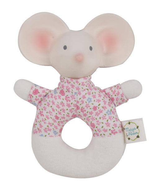 Meiya & Alvin: Meyia the Mouse Soft Rattle Toy