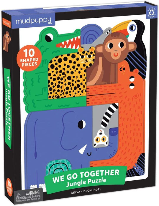 Mudpuppy - We Go Together Puzzle Jungle
