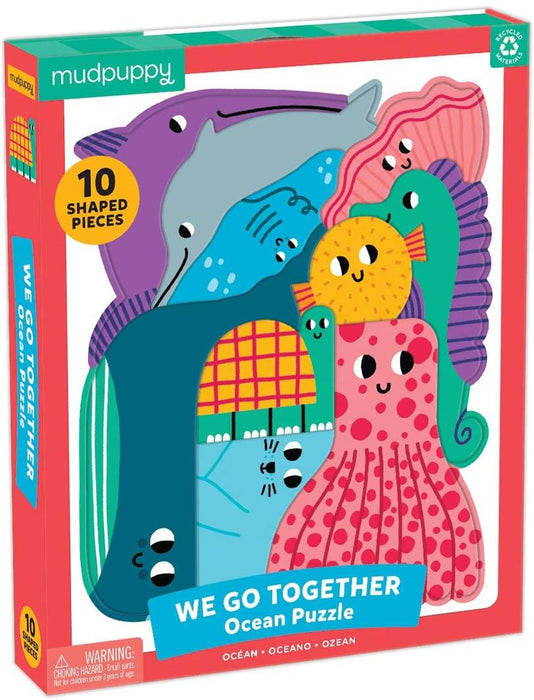 Mudpuppy - We Go Together Puzzle Ocean