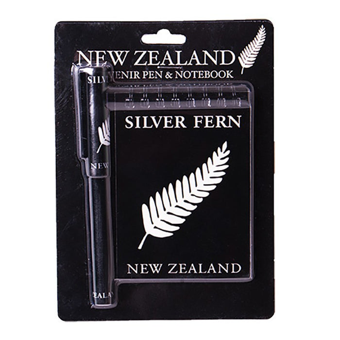 NZ Fern Pen & Notebook Set
