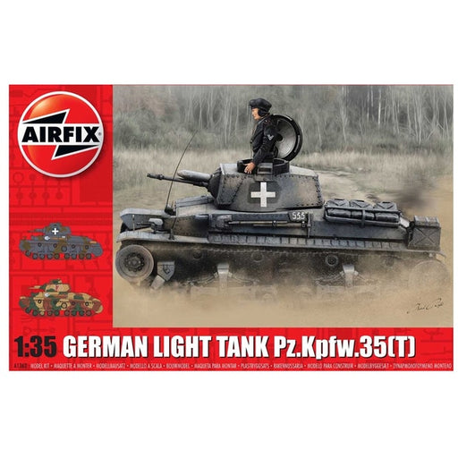 Airfix - 1:35 German Light Tank Pz.Kpfw.35(T)