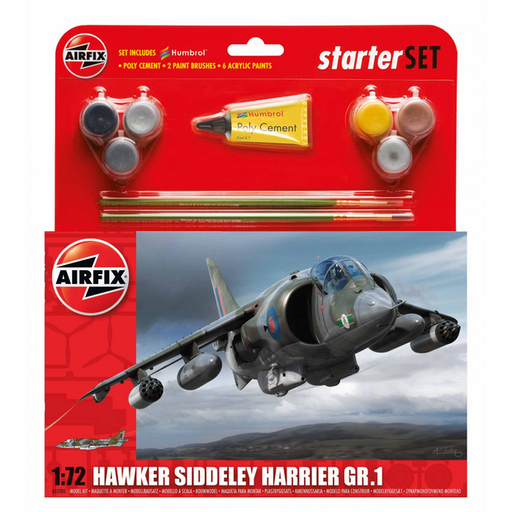 Airfix Starter Set - 1:72 Hawker Siddeley Harrier GR.1