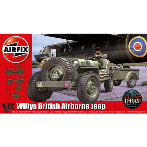 Airfix: 1:72 British Airborne Willys Jeep