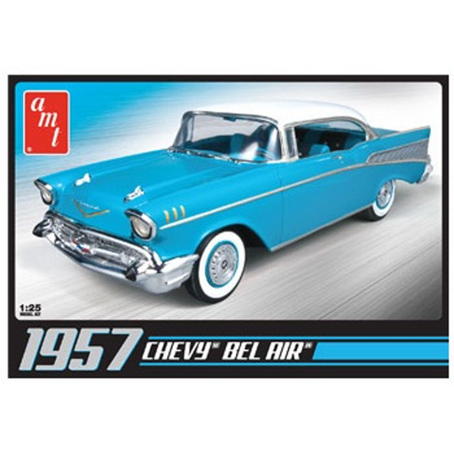 AMT 1/25 1957 Chevy Bel Air Model Kit
