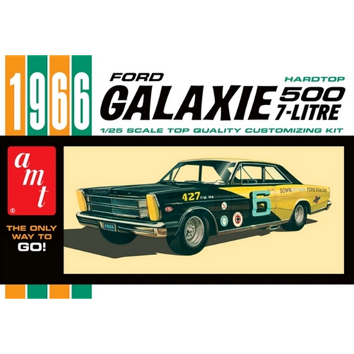 AMT - 1/25 1966 Ford Galaxie 500 Hardtop 7L Model Kit