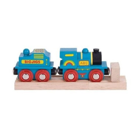 Bigjigs Rail: Blue ABC Engine