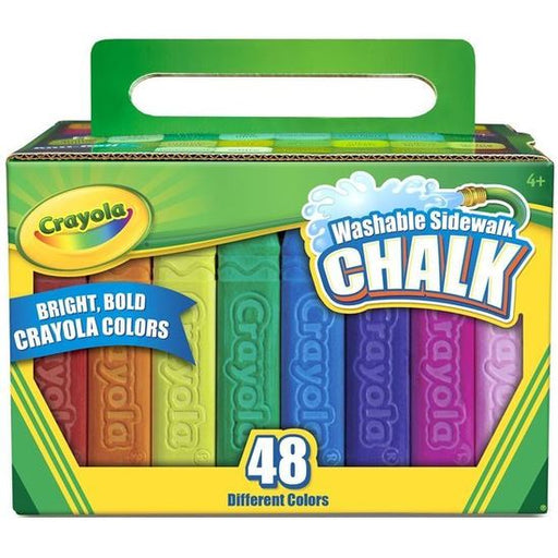 Crayola - Washable Sidewalk Chalk (48 colours)