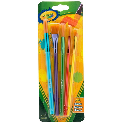 Crayola - Art & Craft Brushes 5pc