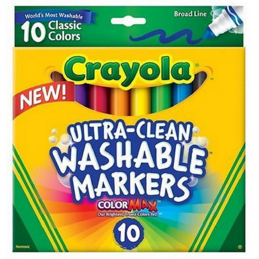 Crayola - Ultra Clean Washable Markers