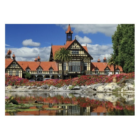 Explore New Zealand 100pc Puzzle - Government Gardens, Rotorua