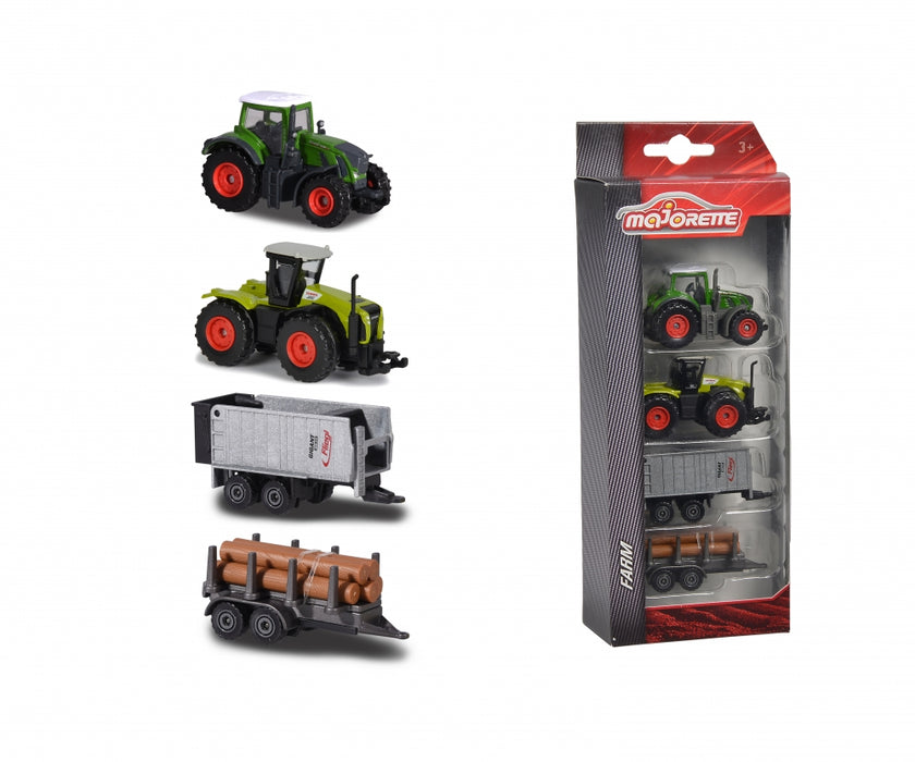 Majorette: Farm Vehicles 4 piece set
