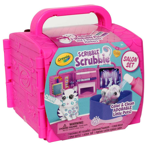 Crayola Scribble Scrubbie - Salon Set