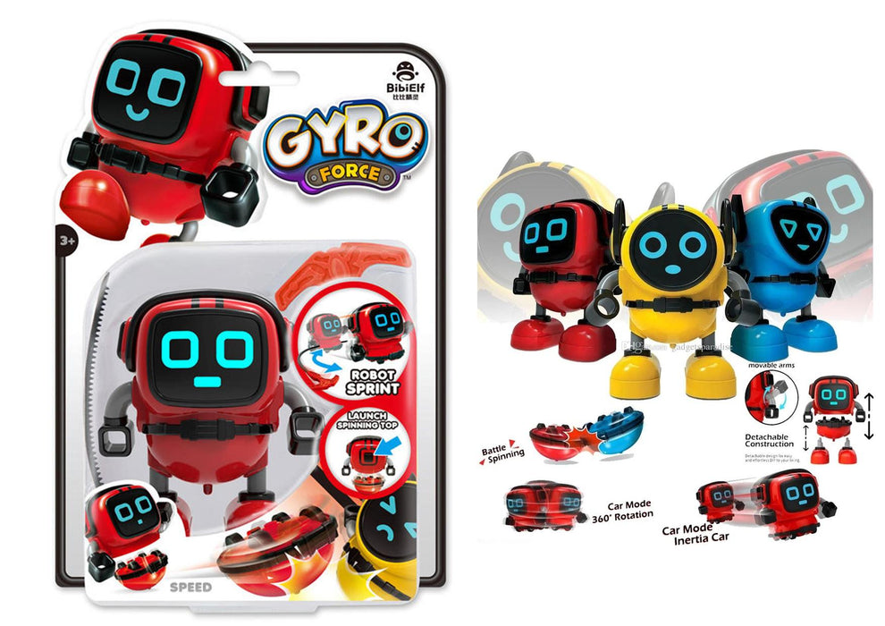 Gyro Force Robot - Speed (Red)