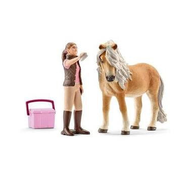 Schleich - Groom with Icelandic Pony Mare
