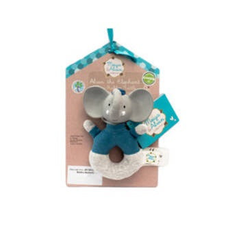 Meiya & Alvin: Alvin Soft EasyGrip Rattle with Teether Head