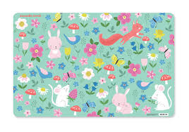 Crocodile Creek - Backyard Friends Placemat