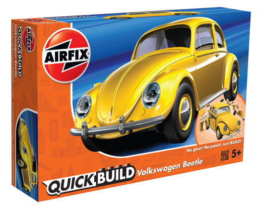 Airfix Quick Build - Yellow Volkswagen Beetle