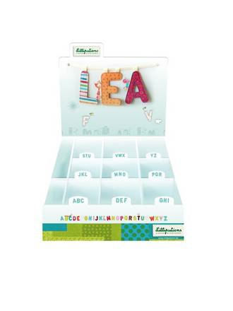 Lilliputiens Alphabet Set - N
