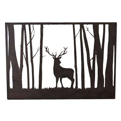 Wall Art: Stag in the Forest
