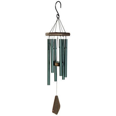 Natures Melody - Wind Chime - Forest Green 24""
